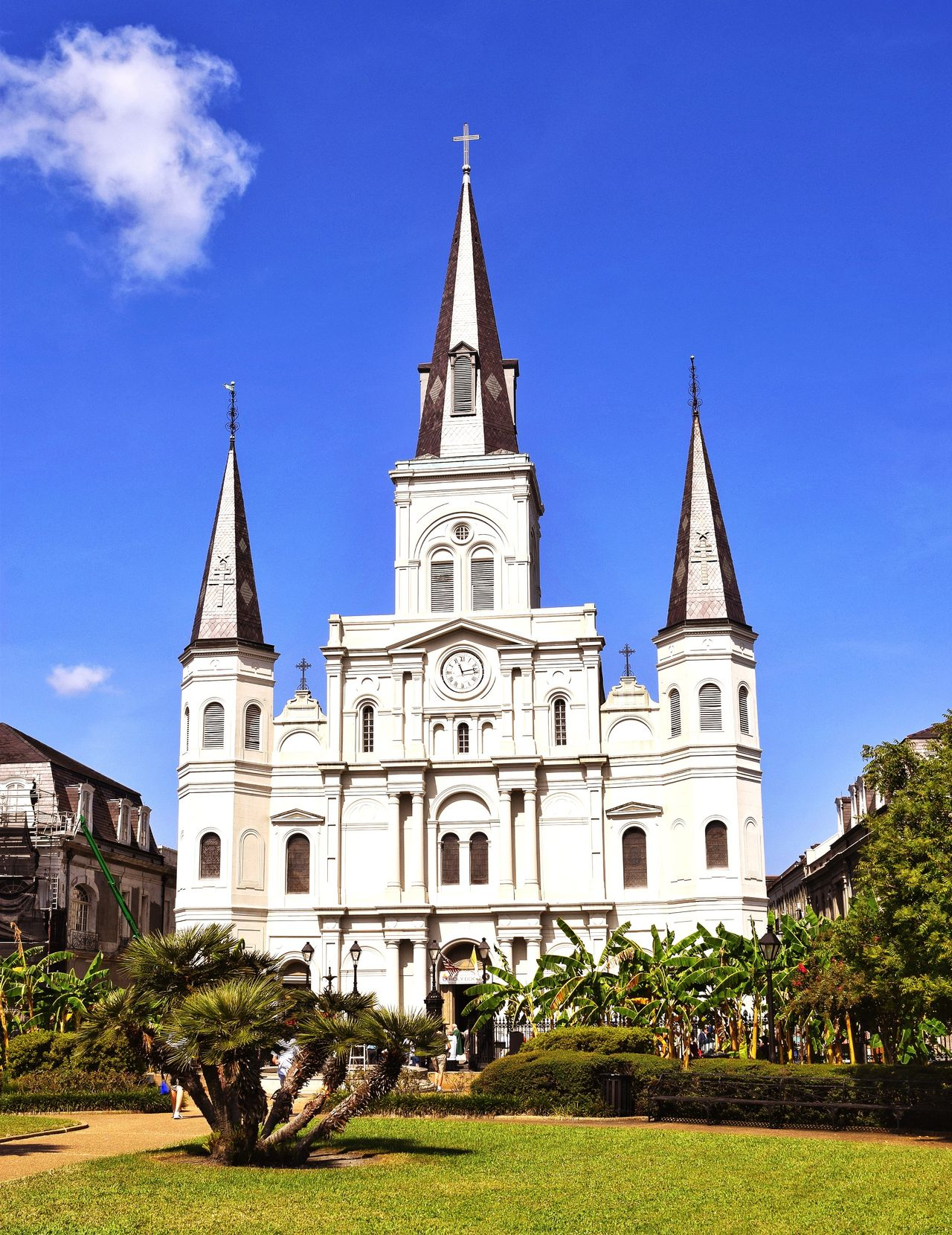 Architecture Religion Place Of Worship Building Exterior Spirituality Built Structure Outdoors Jackson Square