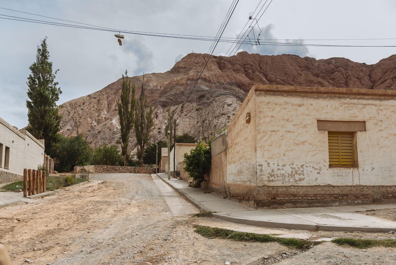 Adobe Andes Argentina Cordillera De Los Andes Jujuy Province Landscape Mountains Purmamarca Road Tourism Town Village