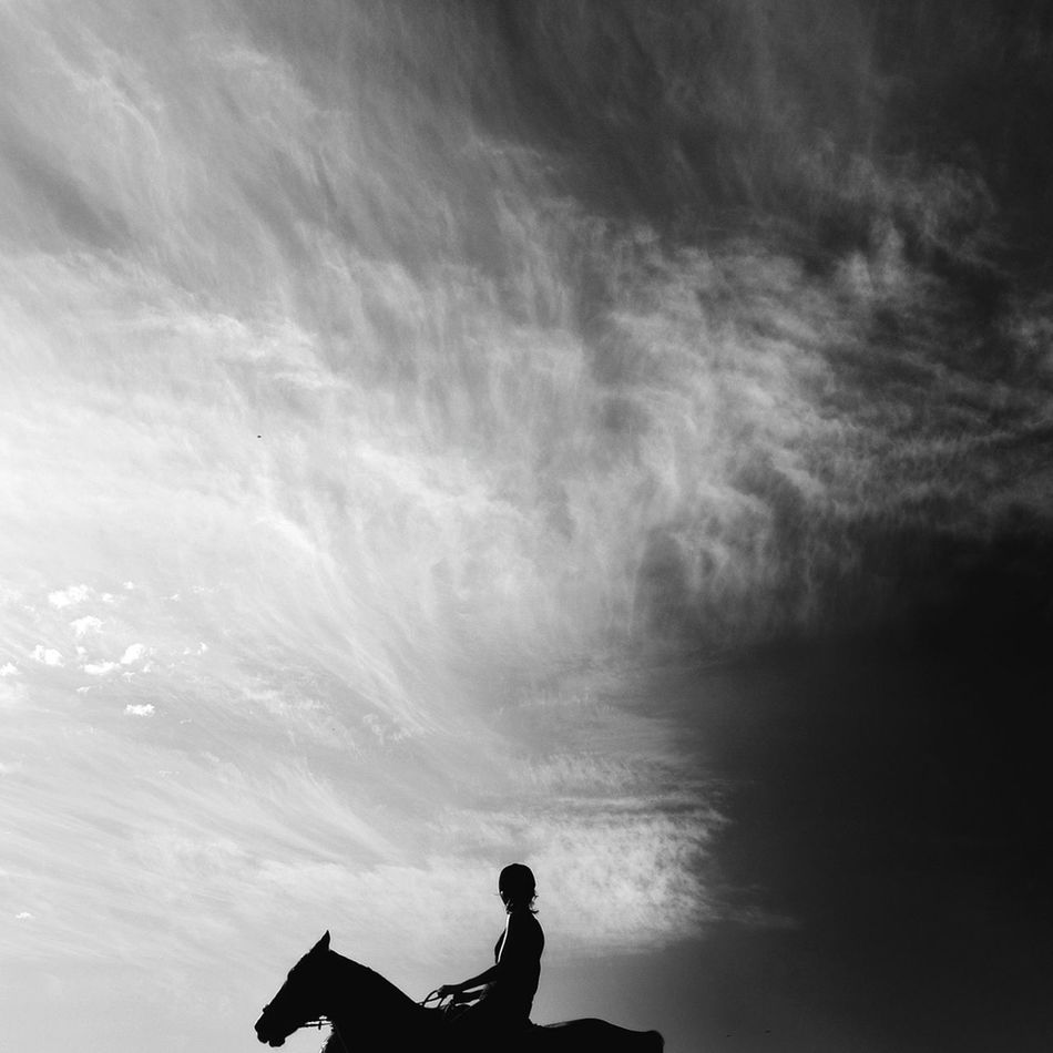 Beautiful stock photos of silhouette, Auto Post Production Filter, Black And White, Cloud, Day