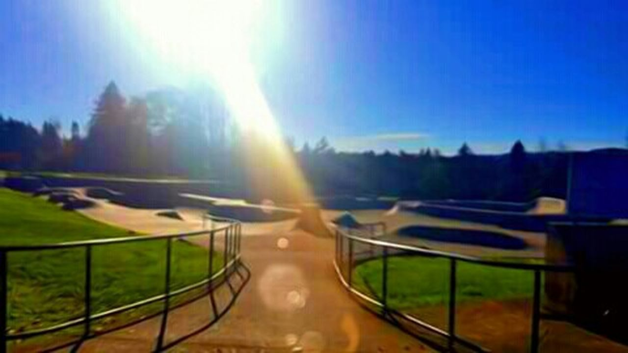 Clear Sky Blue Sunlight Telling Stories Differtenly The Week On EyeEem Outdoors Photograpghy  Best Of The Best Wicked Awesome Skateeverydamnday Where To Play Take It To The Park Shredvibes Newberg Oregon Tonyhawkprovingground Popular Place West Side Skater Life Recreational Pursuit Famous Place Travel Destinations Skate Park Skate Or Die Fall Collection Outdoors Photograpghy  Spectrum