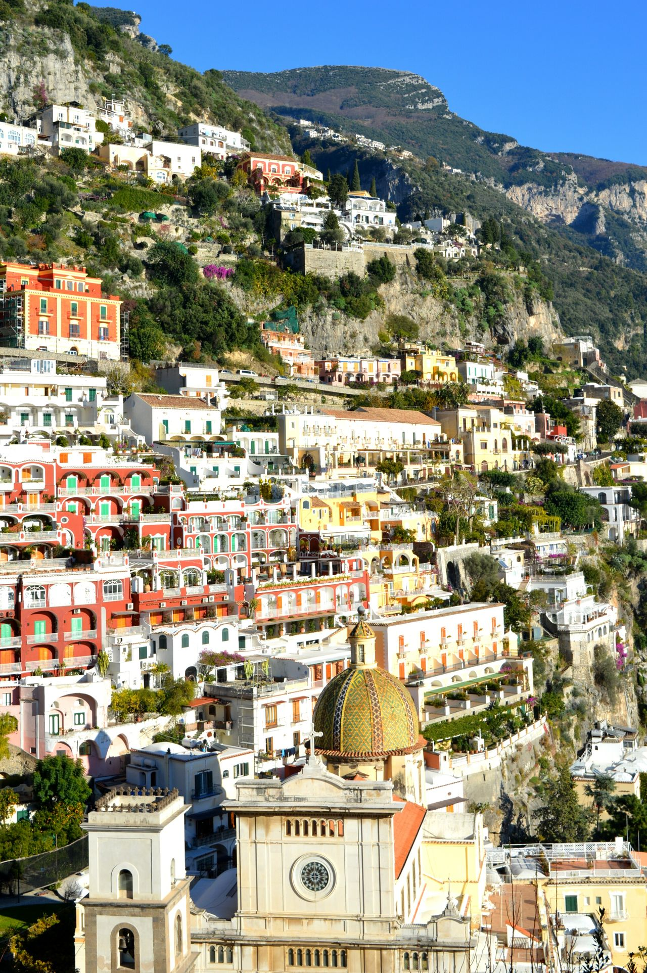 Church Cityscape Building Exterior Architecture Travel Destinations City Residential Building Town Built Structure Crowded House Sky Outdoors Urban Skyline Business Finance And Industry Day Urban Sprawl Tree Community People Landscape Amalfi  Amalfi  Italy Amalfi  Amalfi