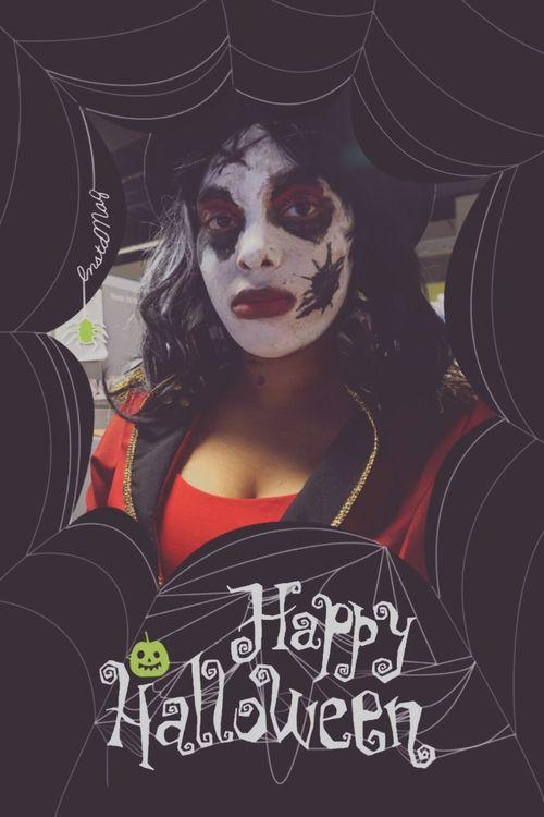 My costume Happy Halloween October2015 Carnival Ringmaster Ghost-like