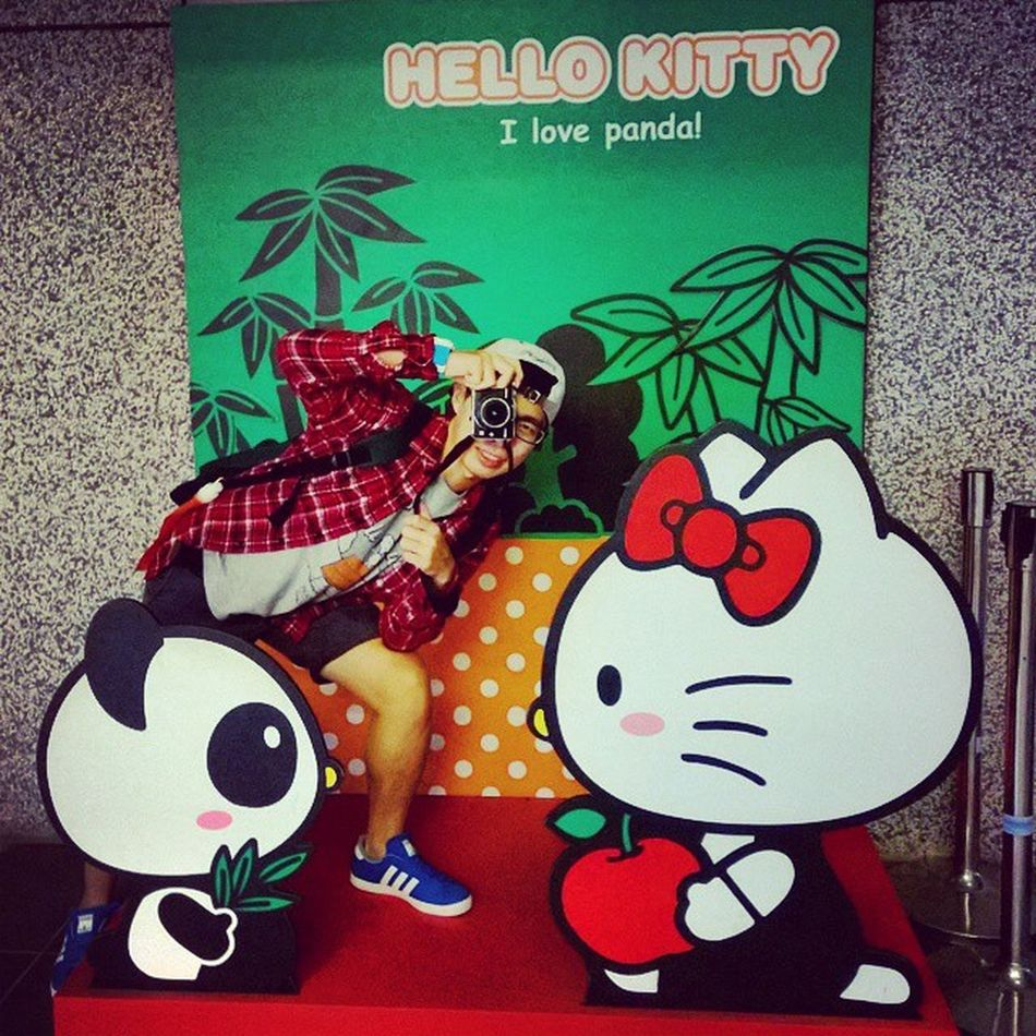 Throwback in Taipei 11Nov2014 貓空 Zoo Hellokitty Panda Cablecar Imisstaiwan
