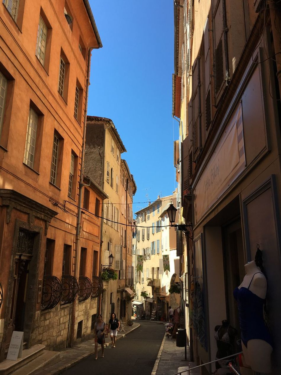 Grasse Grasse Street Sky Blue Sky Market Provence Provençale