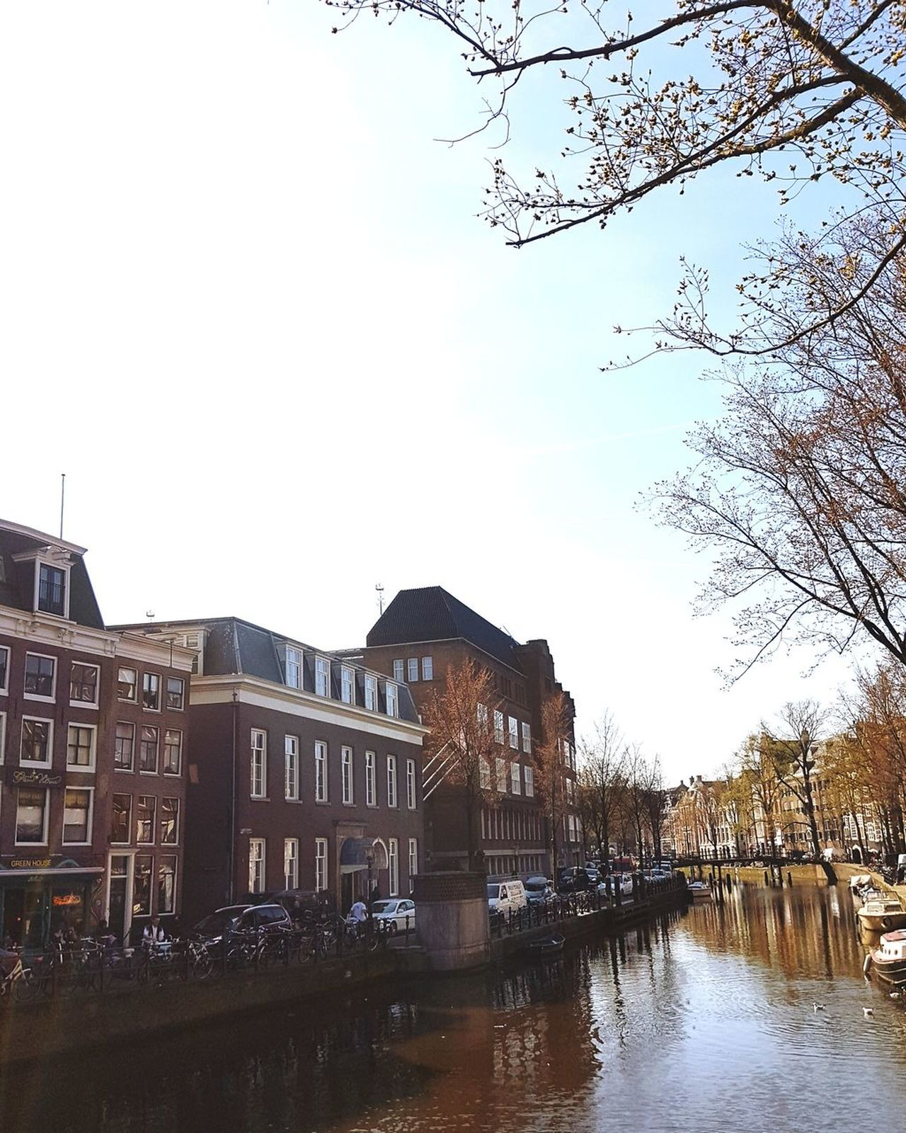 Amsterdam, 27th of March 2017 Reflection Water Sky Outdoors Architecture Day No People City Canal Buildings Amsterdam Jordaan