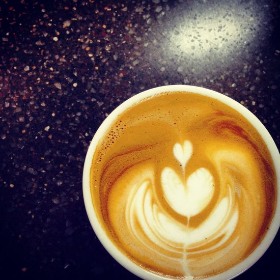 오랜만에 라떼아트! Coffee Cafe Latte Latteart Tulips Heart Korea EyeEm Korea