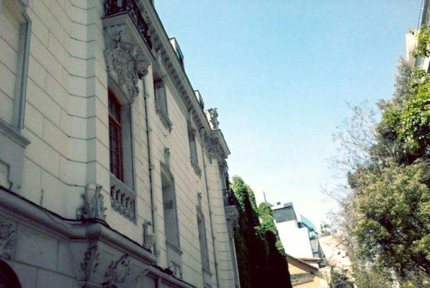Built Structure Building Exterior Tree Outdoors City Santiago Santiago De Chile