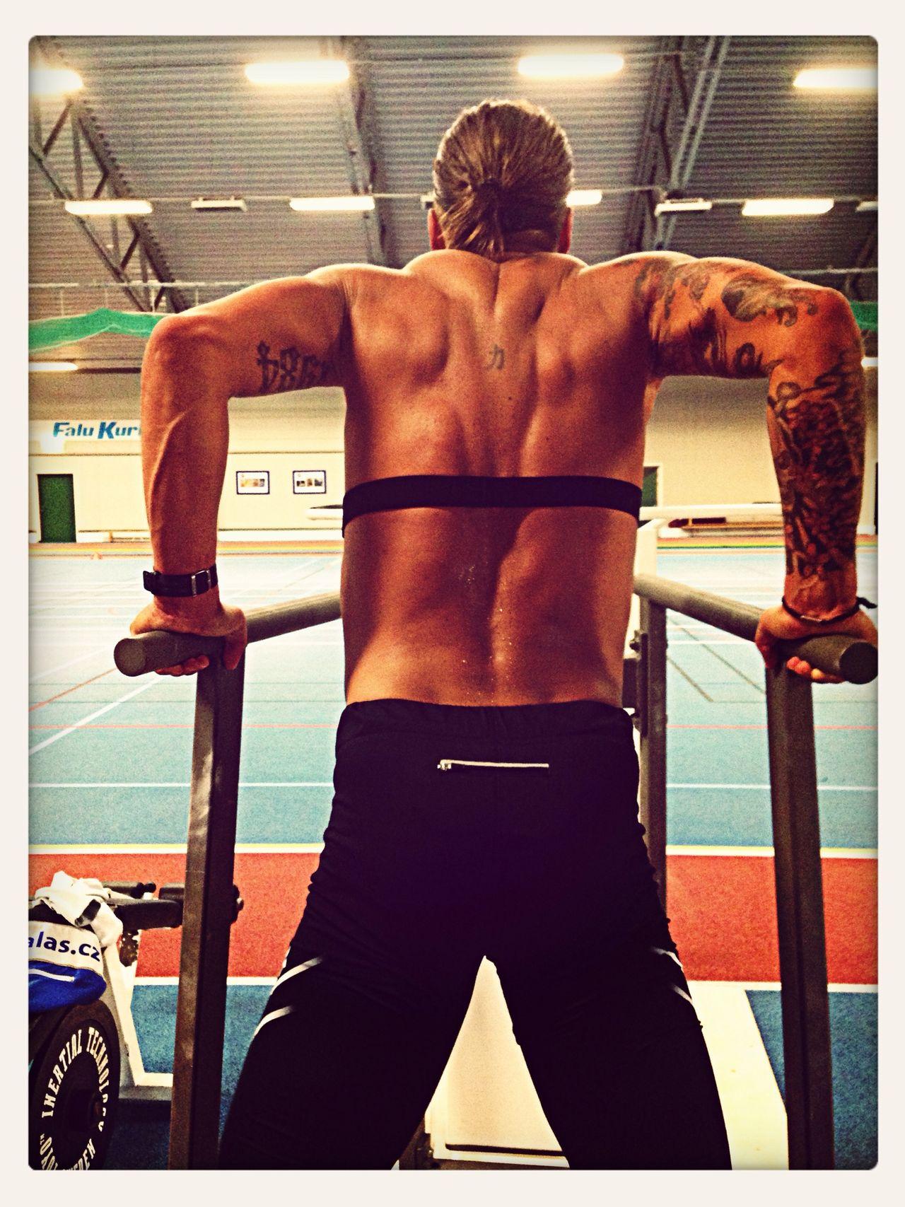Crossfit Gym Dips Wod