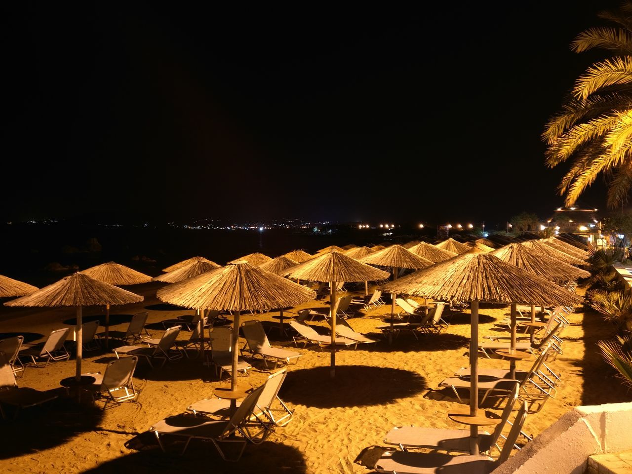 beach, night, summer, outdoors, vacations, sand, nature, no people, clear sky
