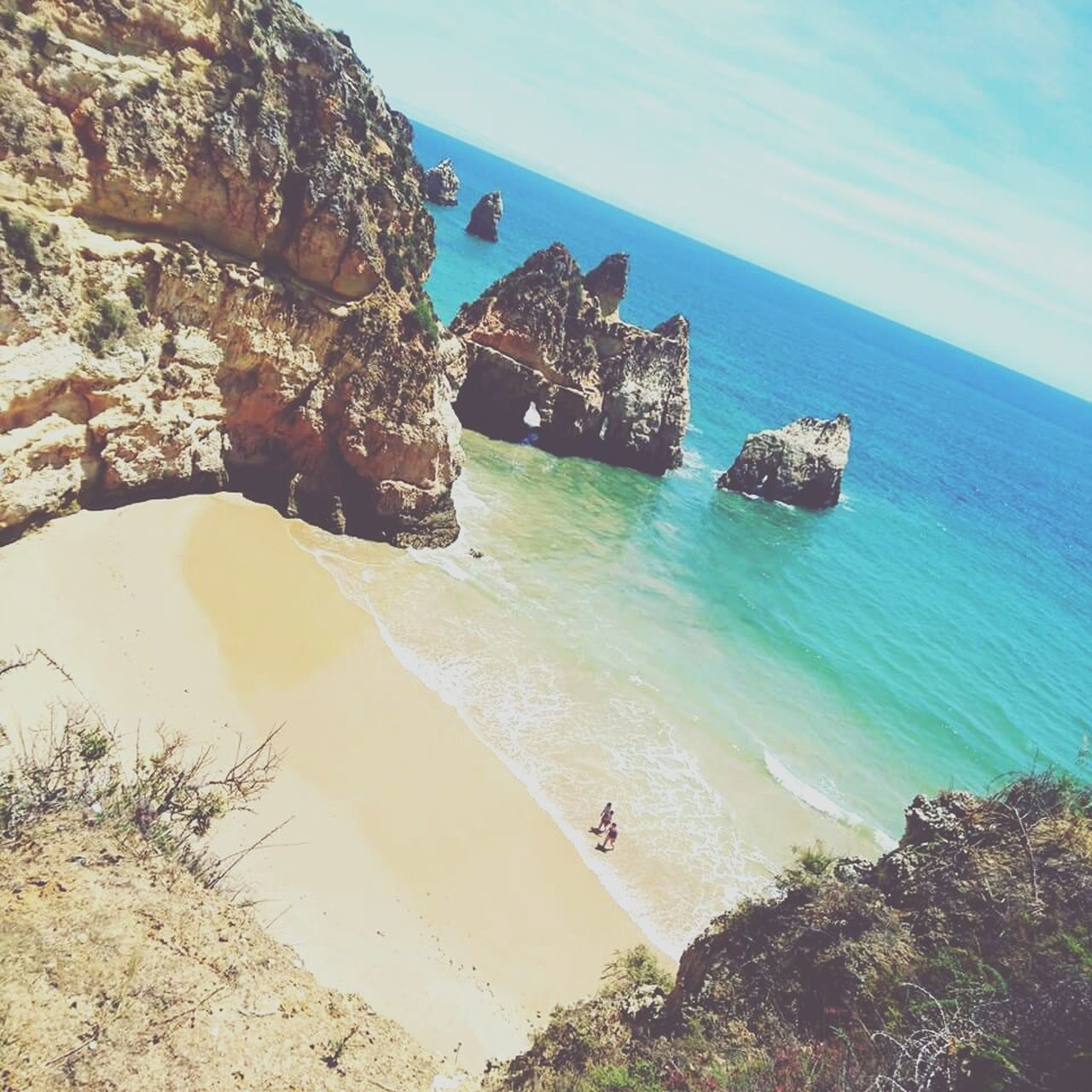 The Most Beautiful Beach In The World - Alvor Portugal Sea Beach Sand Water Travel Destinations Tranquil Scene Nature Outdoors Wave Vacations Beauty In Nature Day No People Sky Yachting