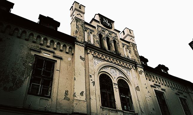 Architecture Blackandwhite Photography Building Exterior Built Structure City City Hall Darkness And Light Façade Gothic Style Historical Historical Building History Neogothic Old Buildings Sky Window
