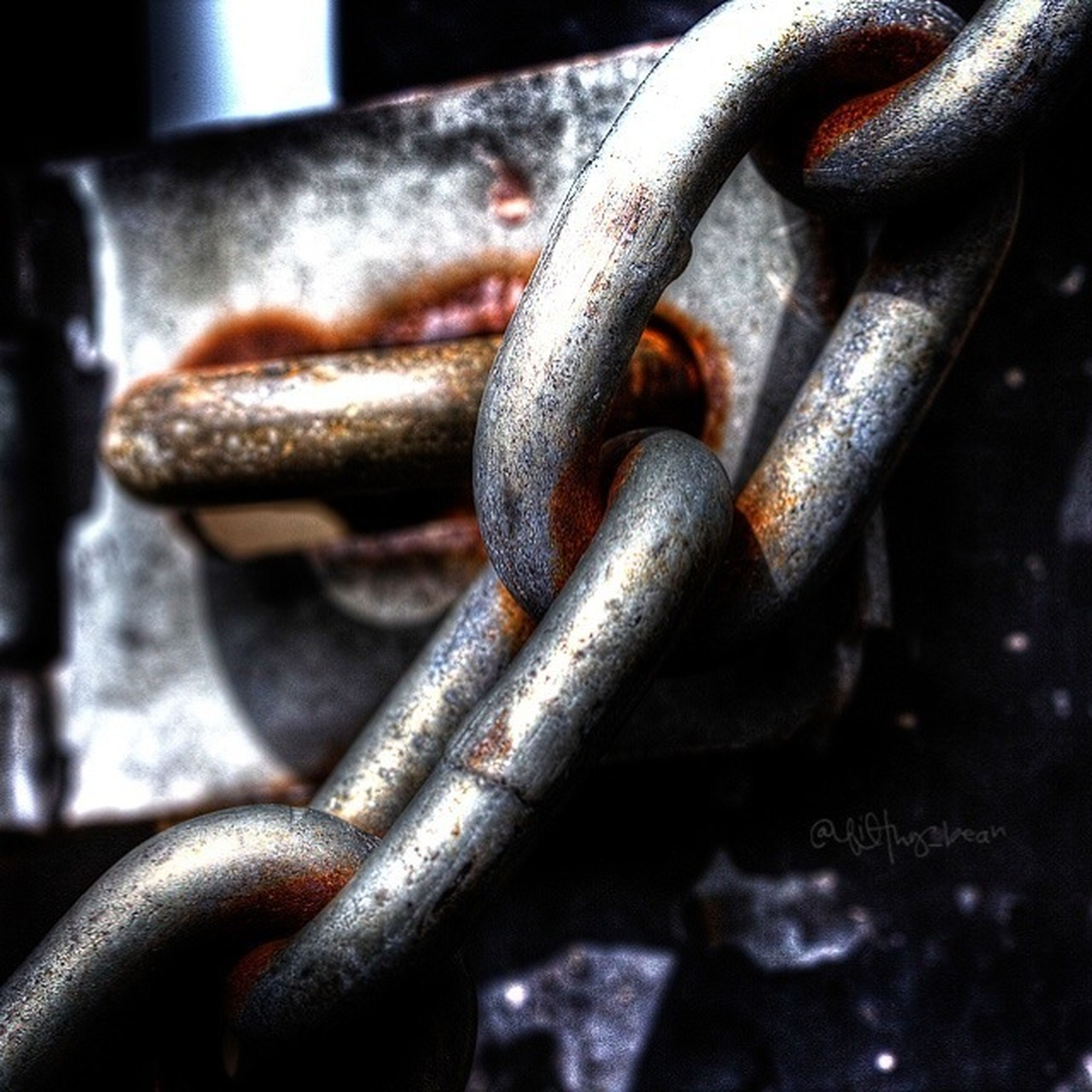 metal, rusty, metallic, close-up, chain, old, strength, focus on foreground, deterioration, weathered, security, run-down, iron - metal, safety, protection, connection, padlock, damaged, lock, obsolete