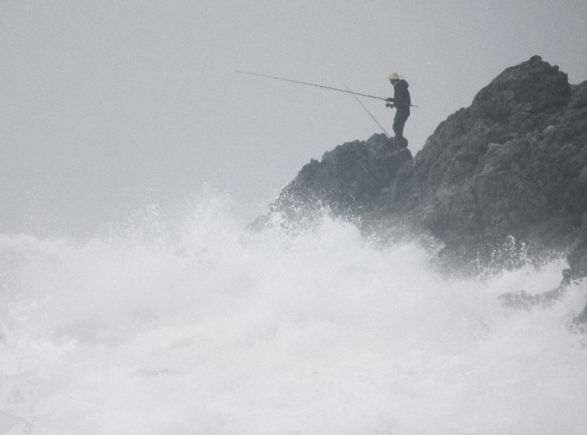 Seaside Tide People Watching Fishing Waves Spindrift Rock Reef EyeEm Nature Lover Tadaa Community