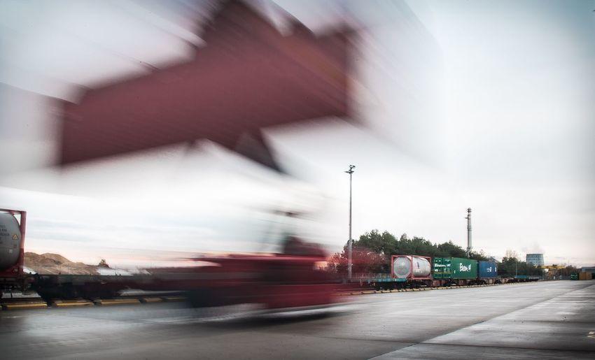 Terminal Kalmar Storage Tank Terminal Rail Terminal Intermodal Container Tankcontainer