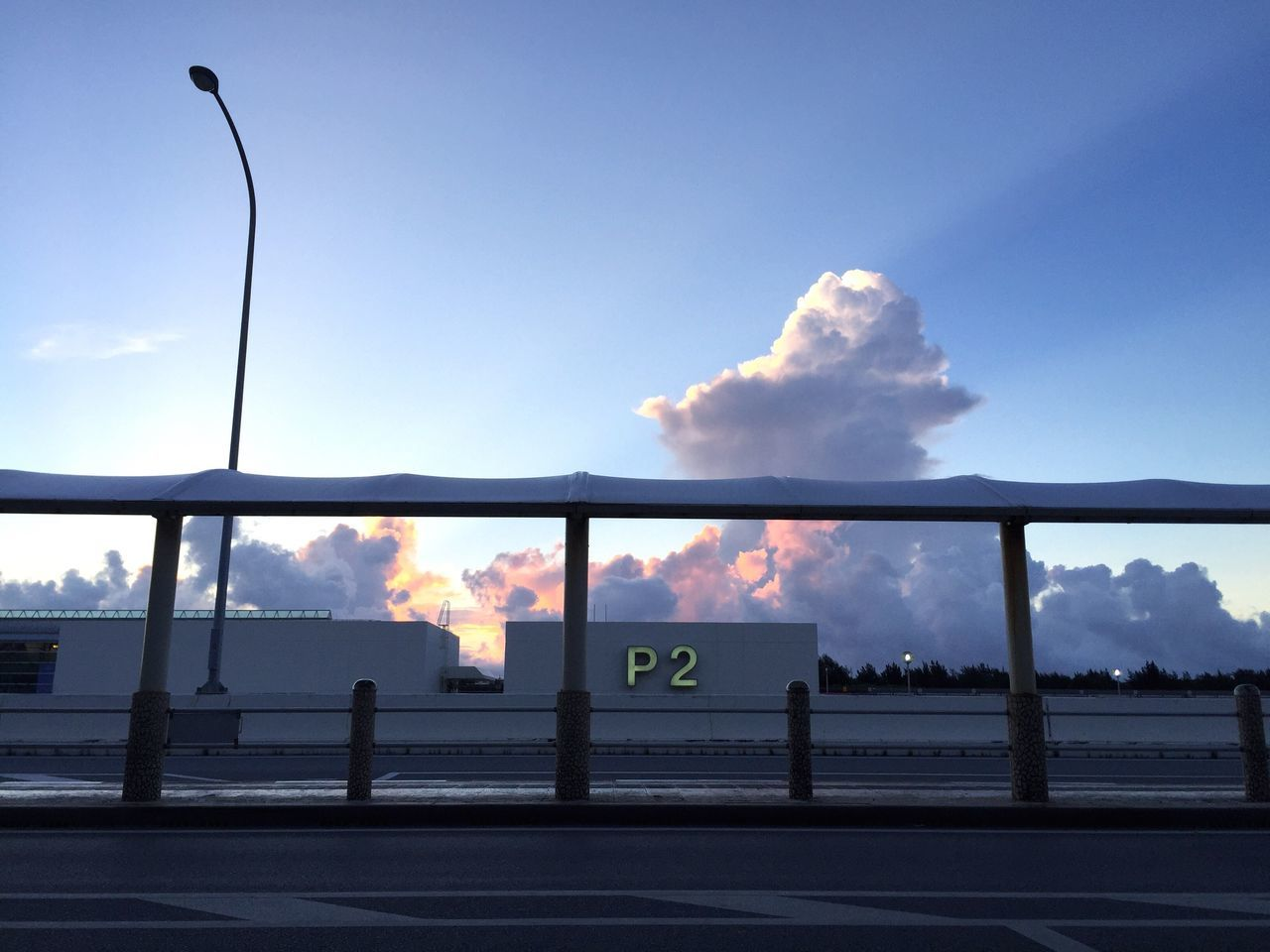 Airport Mornings Sky Cloud - Sky Road Day Transportation No People Outdoors Built Structure Nature Architecture Terminal Naha Airport Okinawa