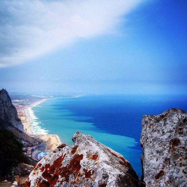 The Great Outdoors With Adobe Sea Blue Sky First Eyeem Photo Summer Travel Hot Rock