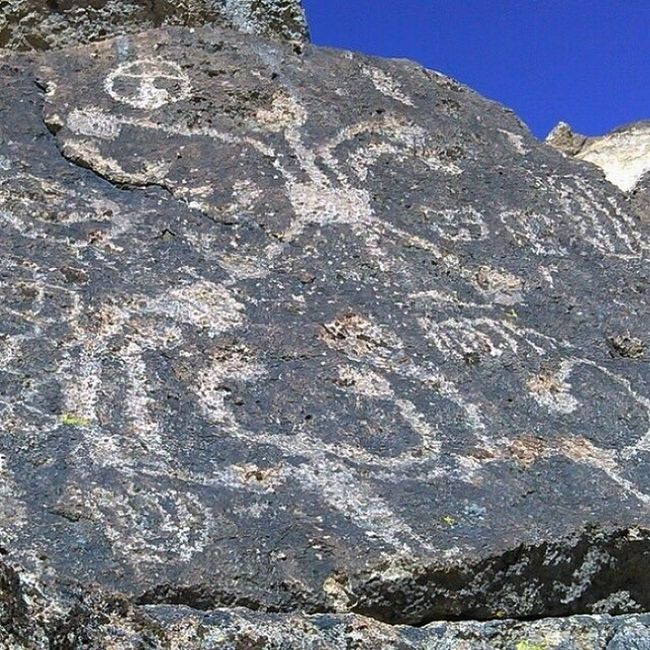 Pictographs Rock Art Bishop, Ca Native American Indian Exploring Hiking Check This Out