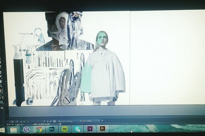 Love my Photoshop. Editing digital book for my final year project!