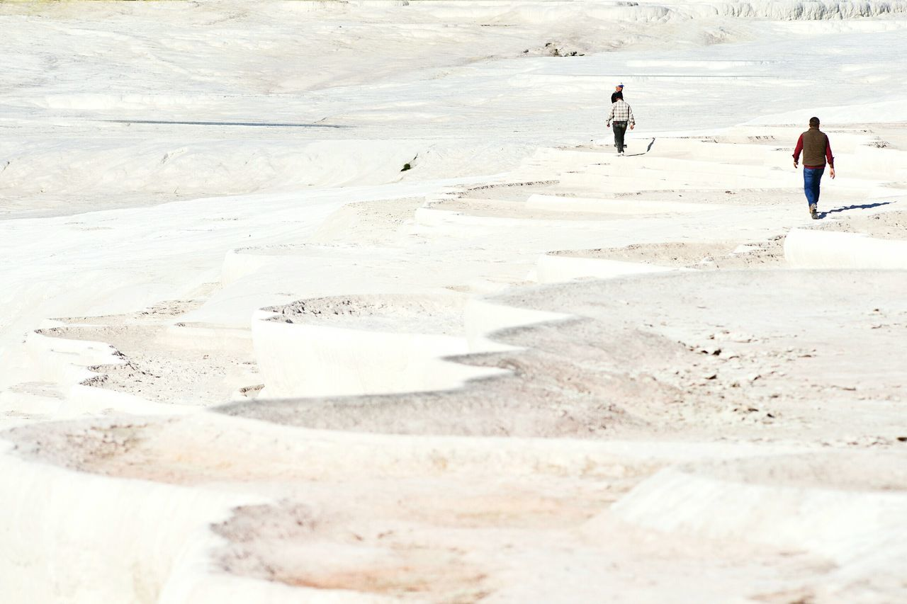 Reshaping curves, in Pamukkale, Turkey. Hello World Mobilephotography Landscape Open Edit Travel Rule Of Thirds Exploring New Ground Elegance Everywhere