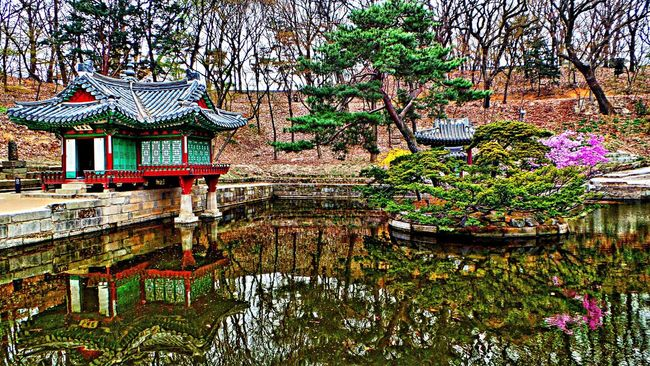 Being A Tourist Village Water Reflections Springtime South Korea EyeEm Nature Lover
