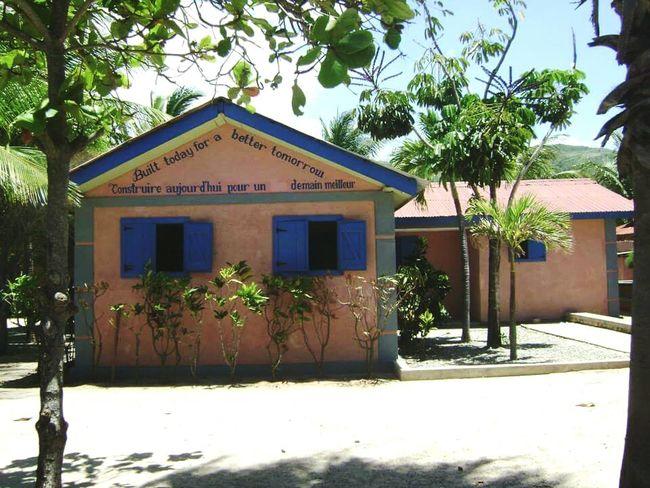 Built today for a better tomorrow. A Building in Haiti. Missing Haiti This Is Haiti Haitian Cap Haitien