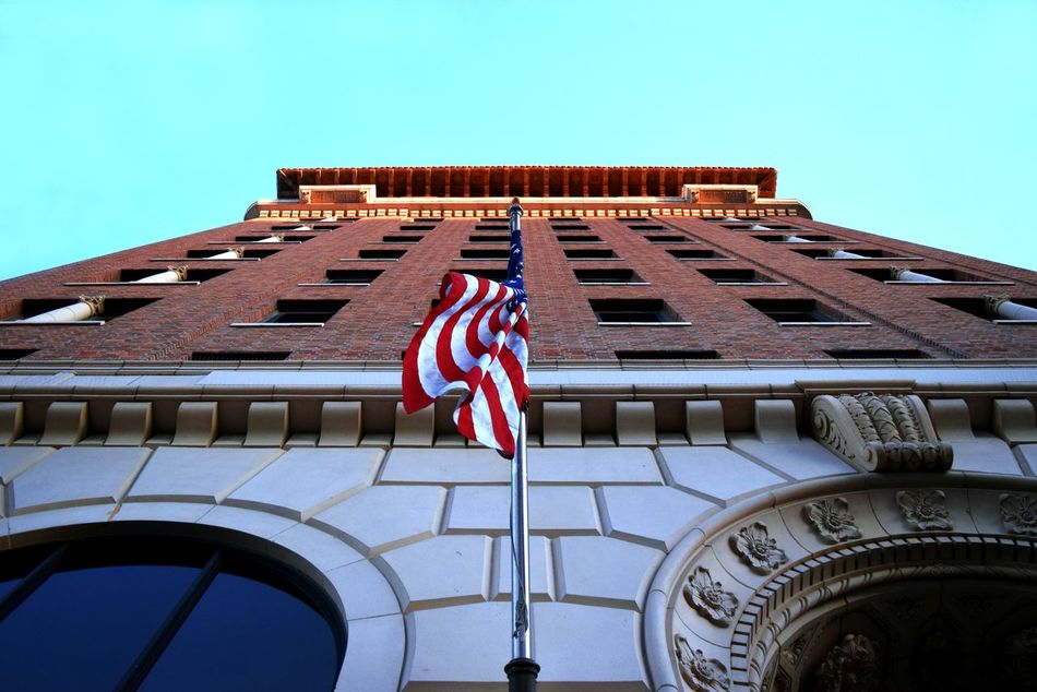 Beautiful stock photos of 4th of july, American Culture, American Flag, Architecture, Building Exterior