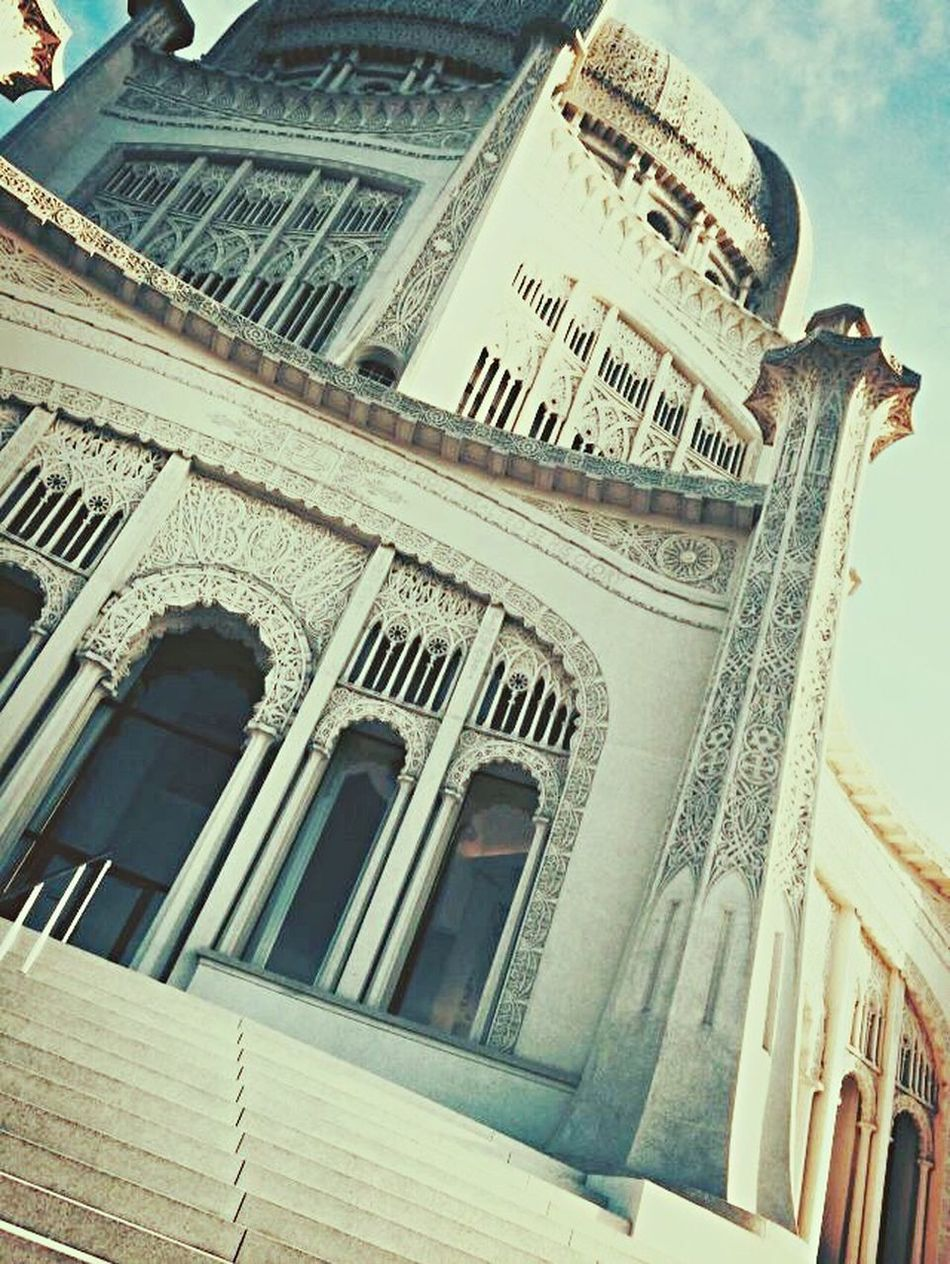 Architecture Built Structure Building Exterior Low Angle View Outdoors No People Day Close-up Sky Bahai Temple
