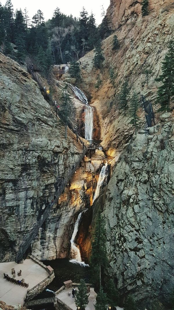 Seven Falls in Colorado. Once of my favorite vacations! Nature Beauty In Nature Colorado Sevenfalls Waterfall EyeEmNewHere