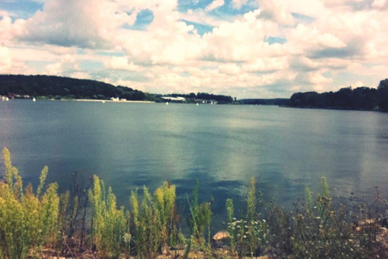 Lac de l'ailette Chamouille France
