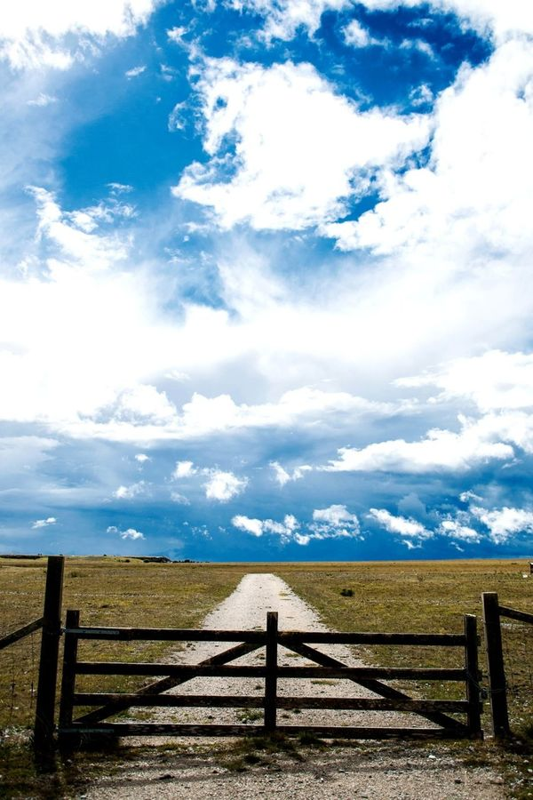 The greater the obstacle , the better it feels to get past it..... Nature Gate Road On The Road
