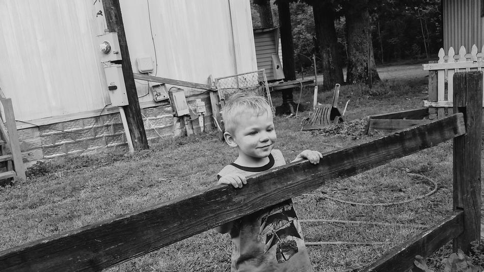 Childhood Front Or Back Yard One Person One Boy Only Children Only Childrenphotography Childphotography Children Photography Child Photography Blackandwhite Photography Blackandwhitephotography Monochrome Monochrome Photography Boys People Males  Day Child