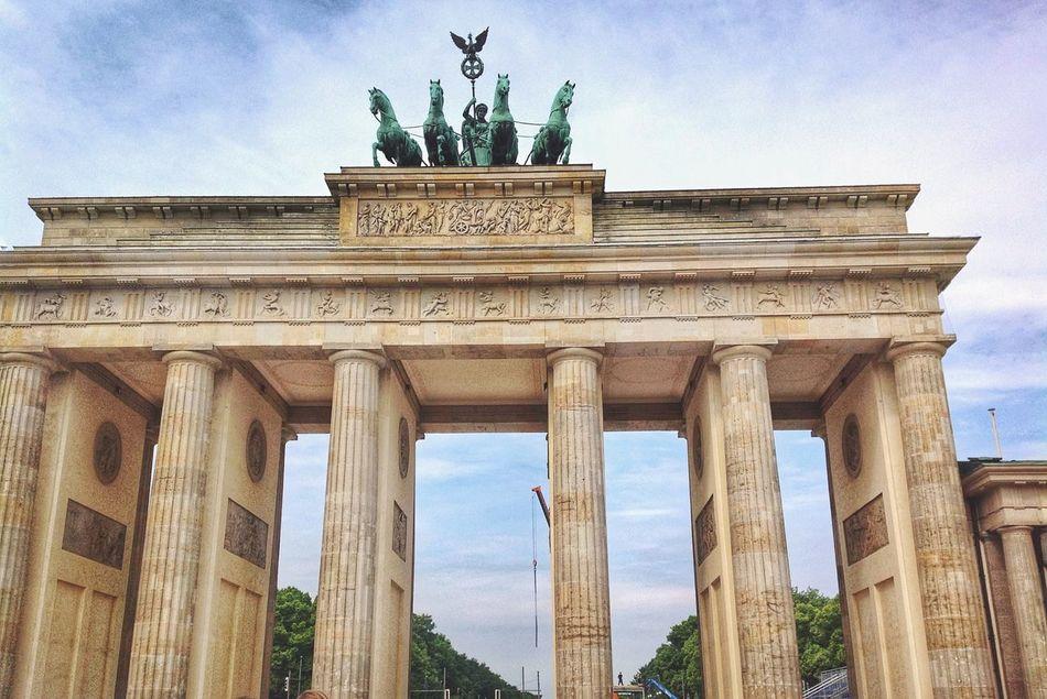 Photo Photography Germany 🇩🇪 Branderburgertor Taking Photos Monuments Deutschland Berlin Sky