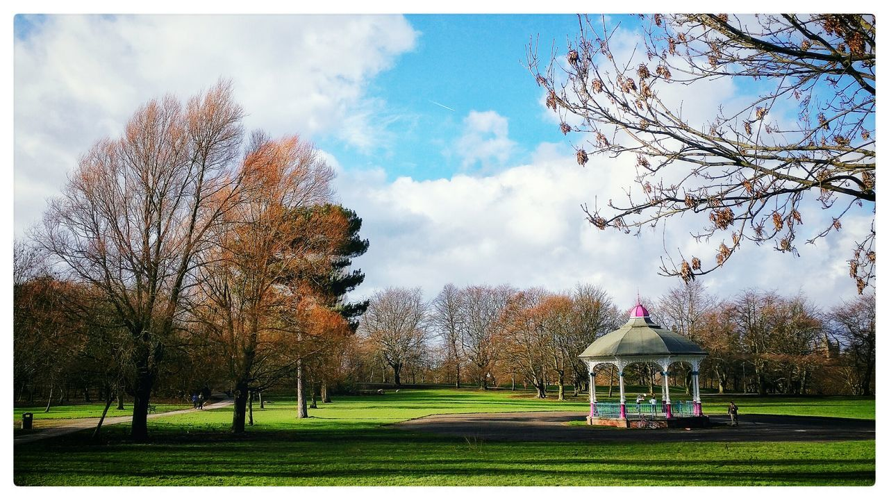 Autumn Bower Park Locke Park England Yorkshire