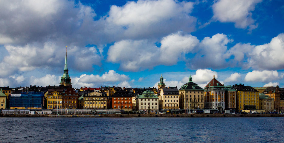 Architecture Building Exterior Built Structure City Cityscape Cloud - Sky No People Outdoors River Stockhom Travel Destinations Water