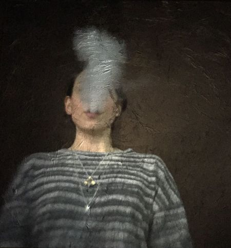 Photographe vaporising à the What's Up Photo Doc in Paris Lumigraphe Analogue Photography Portrait Hybrid Camera
