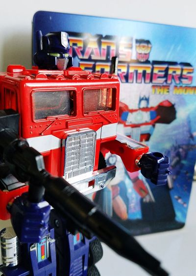 Roll out Transformers Childhood Red