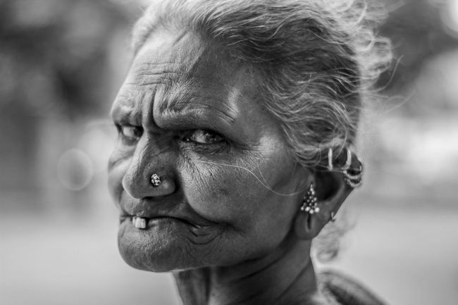 Her eyes have their own vocabulary Black And White Bw_portraits Character Close-up Eyeem Black And White EyeEm Portraits Eyes Are Soul Reflection Headshot Human Human Face Indian Lifestyles Old Woman Portrait PromptShots Real People Spontaneous Spontaneous Moments Strangers Street Portrait Streetphoto_bw Talking Eye The Portraitist - 2016 EyeEm Awards Woman Worried