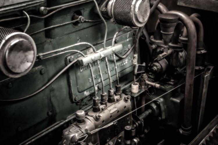 Bosch Close-up Day Detail Engine Engine Room Engineering First Eyeem Photo Locomotive Machine Machine Part Machinery Daimler-Benz Daimler Metal Mode Of Transport Motor Nautical Nautical Vessel No People Old-fashioned Ship Ships Steam Train Transportation