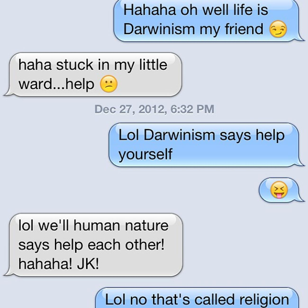 @hidalgo_marcel our random conversation Thinksimcrazy Highschoolbuddies Cracksmeup