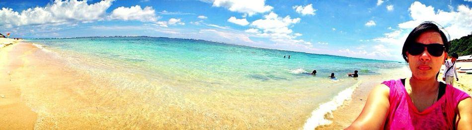 Beach Bali Enjoying The Sun Beautiful