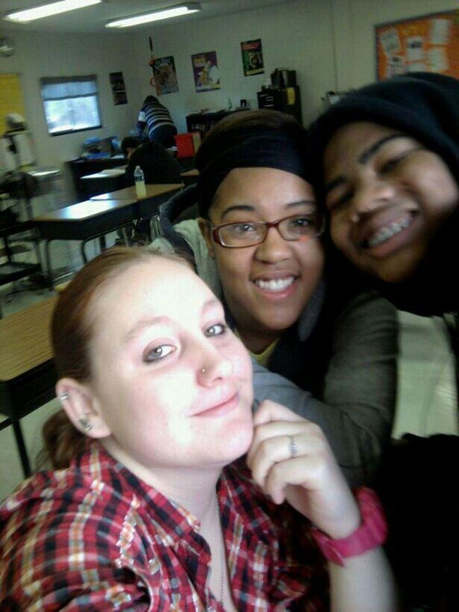 Me Becca & Tiara In Class