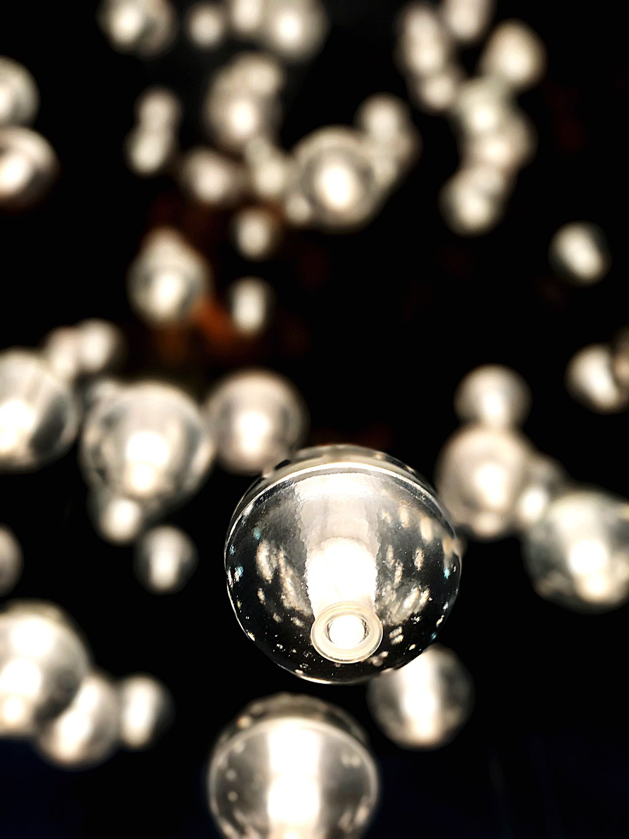 Close-up Indoors  Museum Modern Art Light Blurred Background Float Shiny Large Group Of Objects Luxury IPhone7Plus Tourist Attraction  Mexico City Bright Circle Shiny Shine Low Angle View Photo♡ Objects Saturday The City Light The City Light