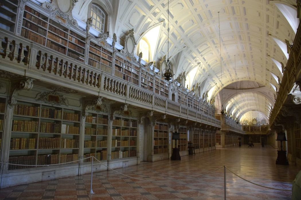 History Museum Built Structure No People Architecture Indoors  Books Library Silence Contrast Colors Enjoying Life Tranquility Just Shoot.. Enjoying Time Remember This No Motion Indoors  Eyeemphotography Taking Photos Enjoying Silence First Eyeem Photo Arch at Convento De Mafra, Portugal