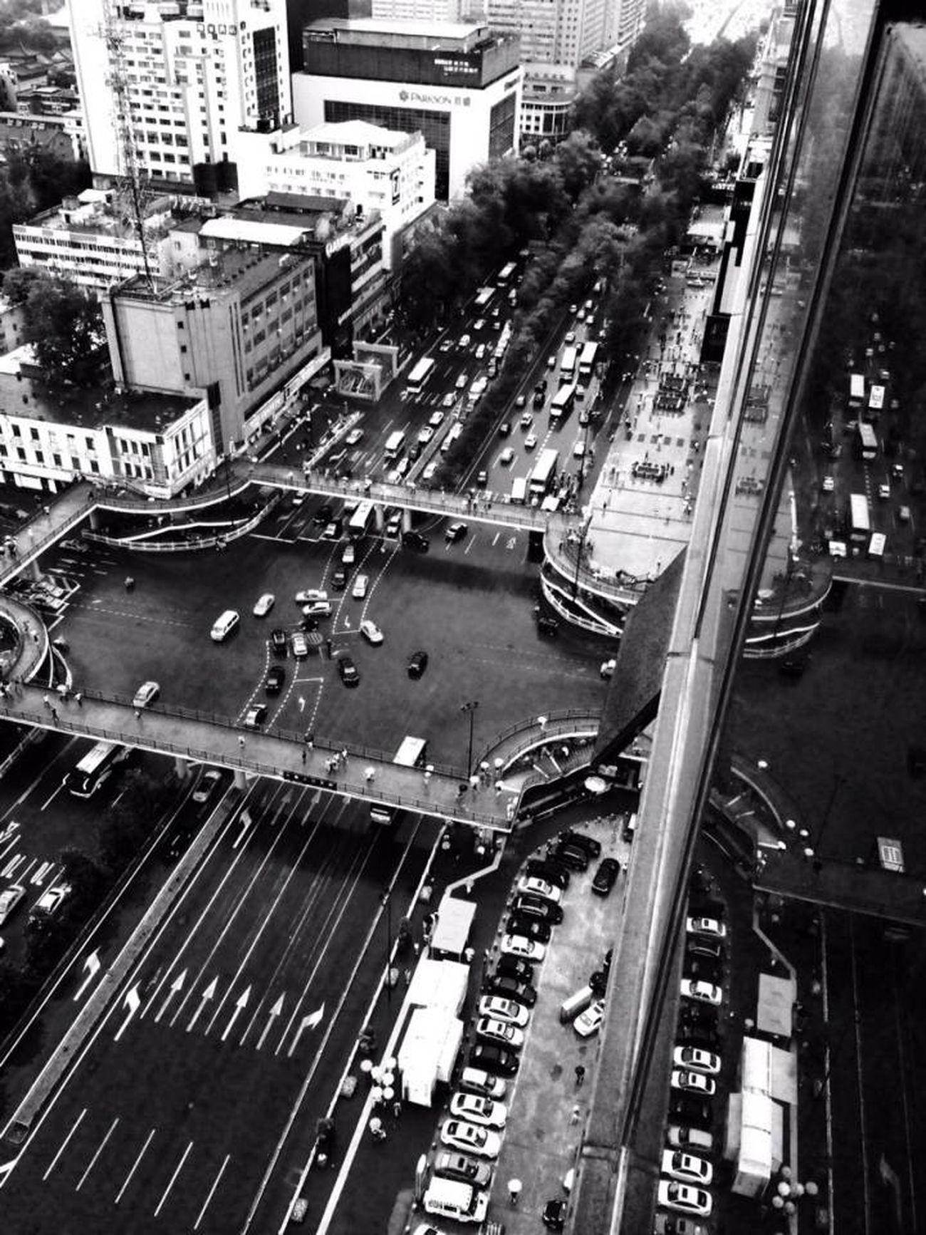 My City China .Xian Enjoy Life Black & White