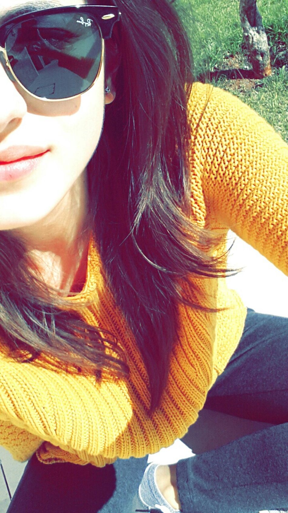 Playing matchy-matchy with the sun☀ Yellowfever HeyMrSun Selfie Everydaylife SmallJoys Colorful Today's Hot Look Weatherreport Candidphotography EyeEmbestshots