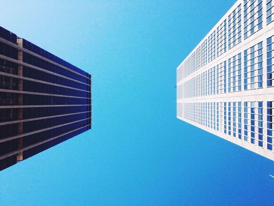 Beautiful stock photos of office, Architecture, Blue, Building Exterior, Built Structure