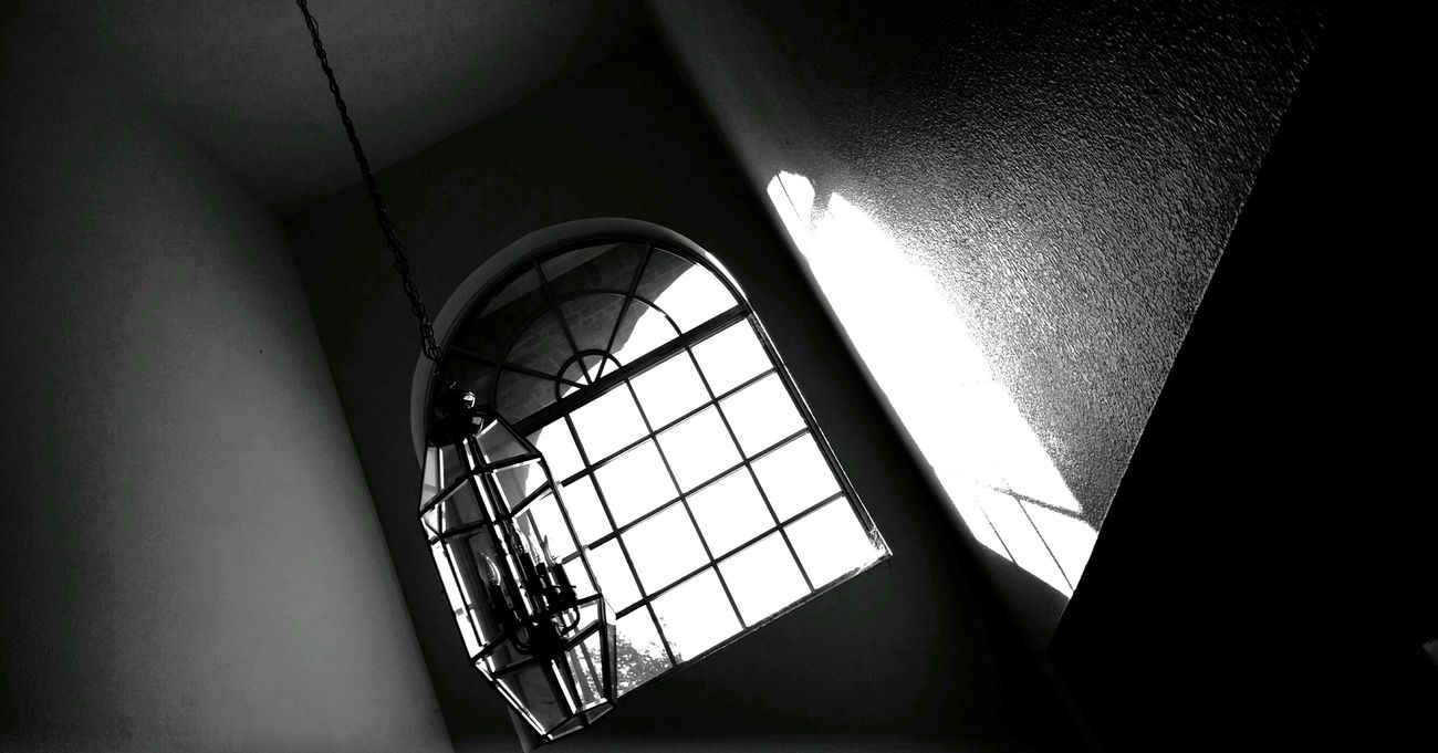 Light And Shadow Low Angle View Blackandwhitephotography Windowcollection Evening Light Spooky