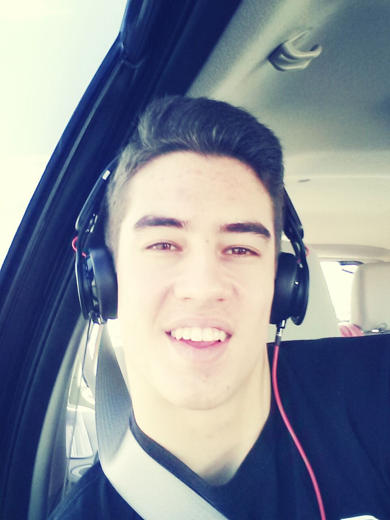 road trip to albuquerque ... bored so i took a selife:) haha