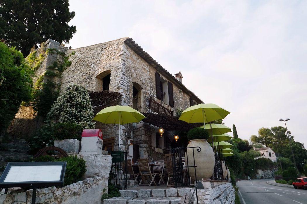 Saint Paul De Vence France Restaurant Beautiful View