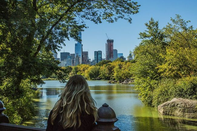 Central Park City Architecture Clear Sky Water Tree Women Day Outdoors Nature Beauty In Nature Central Park New York Newyorkcity Love Beauitful Beauitful Day First Eyeem Photo